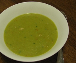Pea and Chicken Soup