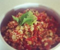 Tomato and Feta Chunky Dip