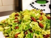 Crunchy Almond And Bacon Brussel Sprout Salad
