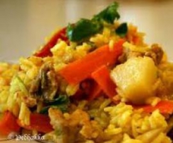 Pineapple and Coconut ( Varoma) Fried Rice