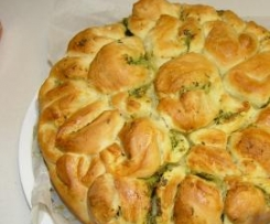 Herb and Garlic Pull Apart Bread