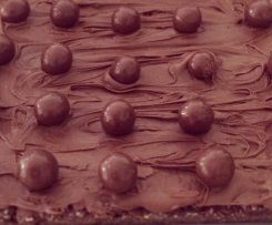 Malteser & Mars Bar Slice