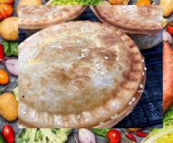 5 basic ingredients easy chicken pot pies
