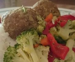 Spicy Couscous Meatballs