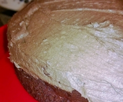 Classic Chocolate Cake with Chocolate Buttercream (converted from Donna Hay)