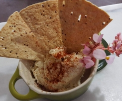 Caramelised Onion Macadamia Hummus