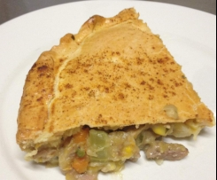 Turkey & Vegetable Pie