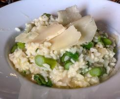 Garlicky Chicken and Spring Vegetable Risotto