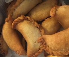 Sambousik (Meat & Pine Nut Pastries)