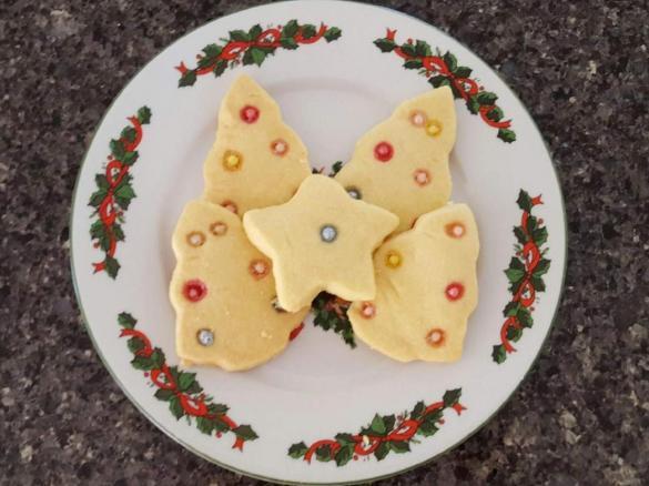50 Second Christmas Shortbread