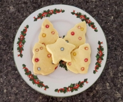 50 second Christmas Shortbread