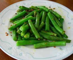 Stir-fry Green Beans(Chinese Style)