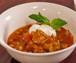 Moroccan Chicken and Chickpea Tagine