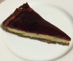 Cherry and White Chocolate Tart