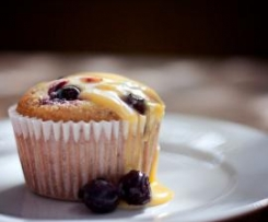 Lemon Curd & Blueberry Friands