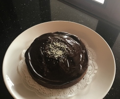 Double Chocolate Sesame Seed Cake