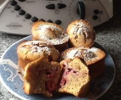 Gluten Free Raspberries Friands