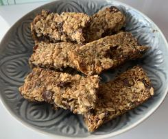 Choc Cranberry Muesli Bars
