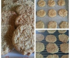 Kirrilee's Anzac Biscuits
