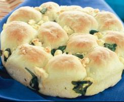 ❤Spinach & fetta and pull-apart bread❤