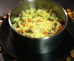 """Un-Fried Cauli Rice"" - Paleo, GAPS, Gluten & Grain Free, Vego option"
