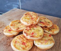 Bulk Batch Mini Quiches 54 - 62 approx