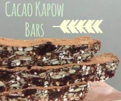 Cacao Kapow Bars