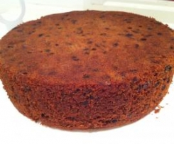 Gluten Free Kahlua Christmas Cake