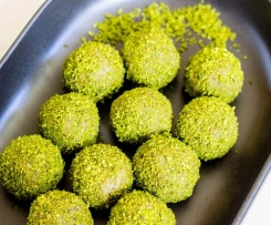 Matcha Coconut Bliss Balls