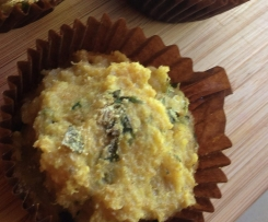 Herb and Cheese Quinoa muffins
