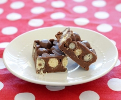Chocolate Malteser Fudge