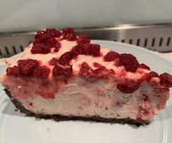 White Chocolate & Raspberry Cheesecake