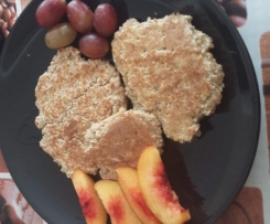 Porridge oats pancakes