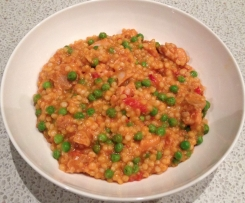 Spanish Chicken & Pearl Cous Cous Risotto