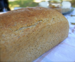 Extra large wholemeal bread loaf