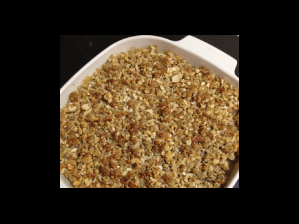 healthy apple crumble by mixingituptm31 a thermomix recipe in the category desserts sweets. Black Bedroom Furniture Sets. Home Design Ideas