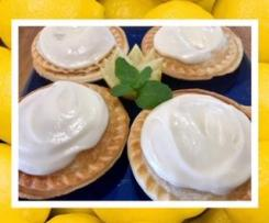 Pie-maker lemon custard pies
