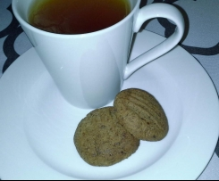 Milo, flaxseed and date biscuits