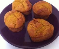 GF SF pumpkin cupcakes