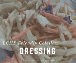 LCHF friendly coleslaw dressing