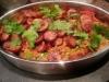 Chorizo, cumin and tomato rice(Cajun dirty rice)