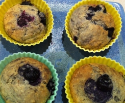 Blueberry & Chia Seed Muffins