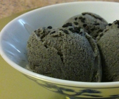 Black sesame coconut icecream