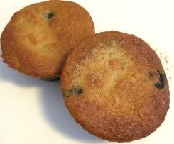 Gluten & Refined Sugar Free Berry Muffins