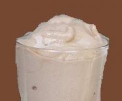 Healthy Wendy's Chocolate Frosty Shake (Sugar free, vegan)