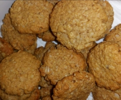 ANZAC BISCUITS adapted from Sarah Wilson I Quit Sugar