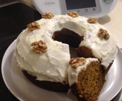 Carrot & Walnut Cake - Easy
