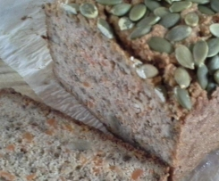Gluten Free Carrot and Walnut Bread