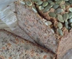 Gluten Free Carrot and Walnut Bread