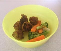Easy baby meatballs 9mths +